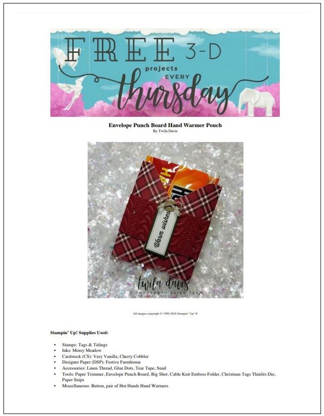Stampin-Up-3D-Thursday-Hand-Warmer-Tags-Tidings-Holiday-Catalog-Christmas-Festive-Farmhouse-Cable-Knit-Idea-Sarah-Wills-Sarahsinkspot-Stampinup-Cover