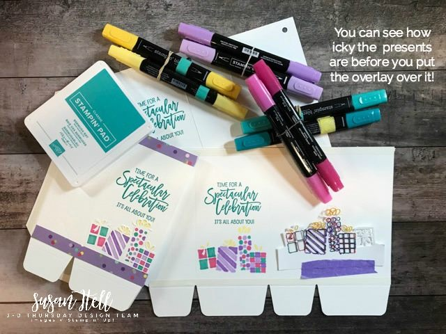 Stampin-Up-3D-Thursday-Birthday-In-A-Bag-Birthday-Cheer-Bundle-Treat-Cake-Pouch-Gift-Bag-Punch-Board-Sarah-Wills-Sarahsinkspot-Stampinup-3