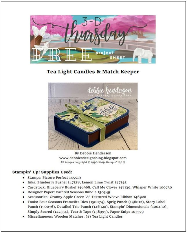 Stampin-Up-3D-Thursday-Tea-Light-Candles-Gift-Box-Painted-Seasons-Bundle-Four-Seasons-Framelits-Saleabration-SAB-Idea-Sarah-Wills-Sarahsinkspot-Stampinup-Cover
