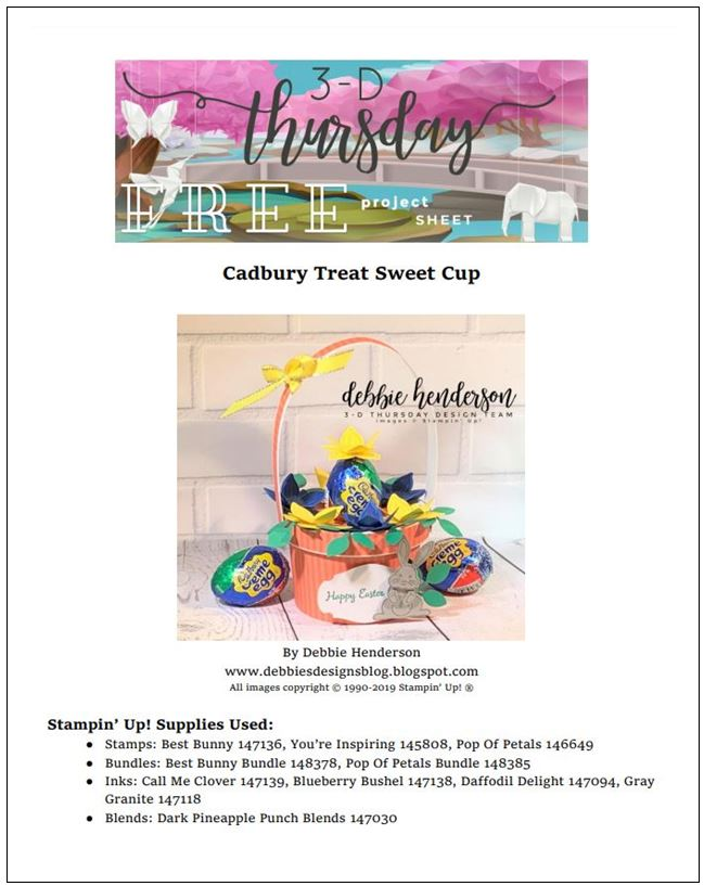 Stampin-Up-3D-Thursday-Easter-Best-Bunny-Cabury-Creme-Egg-Basket-Sweet-Cups-Sarah-Wills-Sarahsinkspot-Stampinup-Cover