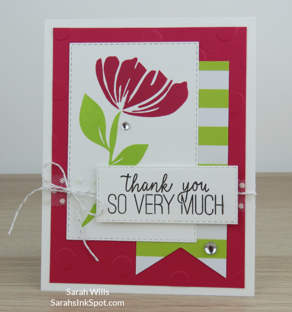 Stampin-Up-Occasions-Bloom-By-Bloom-Stitched-Polka-Dot-Broadway-Thank-You-Card-Idea-Sarah-Wills-Sarahsinkspot-Stampinup-1