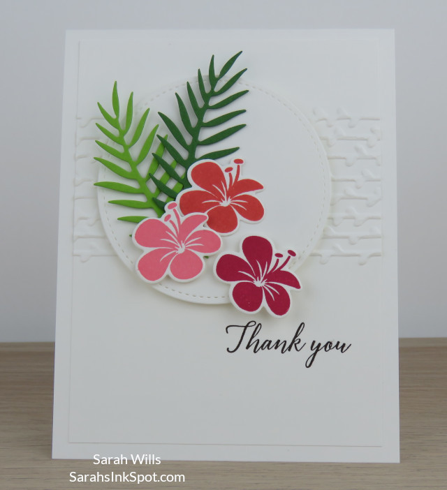 Stampin-Up-Tropical-Chic-Thinlits-Petal-Pair-Thank-You-Card-Idea-Sarah-Wills-Sarahsinkspot-Stampinup-1
