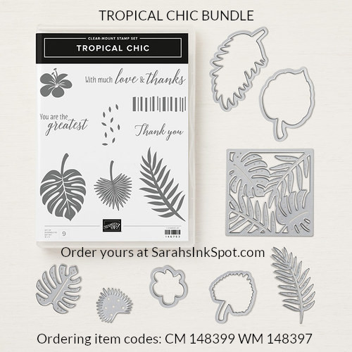 Stampin-Up-Tropical-Chic-Thinlits-Stamp-Set-Bundle-Floral-Flower-Thank-You-Card-Idea-Sarah-Wills-Sarahsinkspot-Stampinup-148399-148397