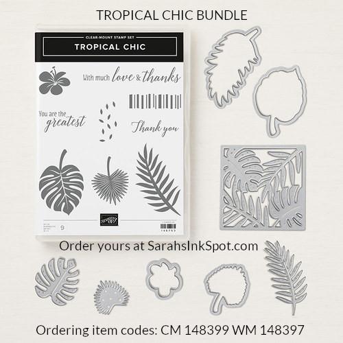 Stampin-Up-Tropical-Chic-Thinlits-Stamp-Set-Bundle-Floral-Flower-Thank-You-Card-Idea-Sarah-Wills-Sarahsinkspot-Stampinup-148399-148397