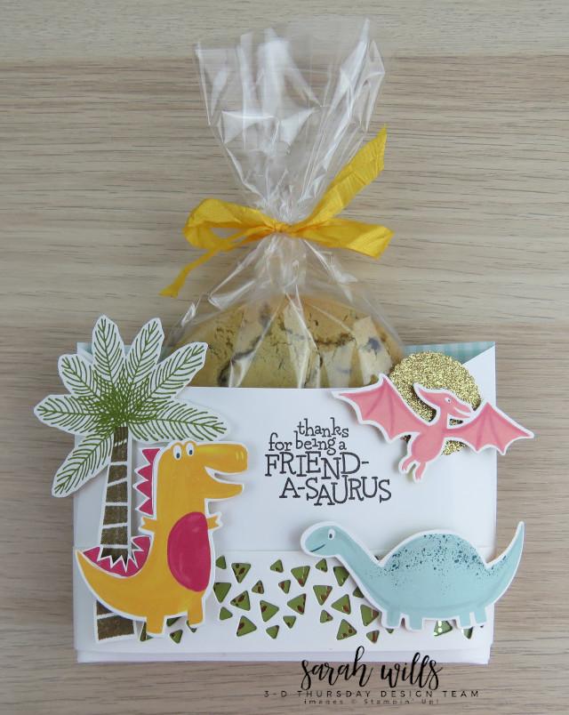 Stampin-Up-3D-Thursday-Envelope-Treat-Bag-Holder-Cookie-Dino-Days-DinoRoar-Kids-Favor-Idea-Sarah-Wills-Sarahsinkspot-Stampinup-Cookie1