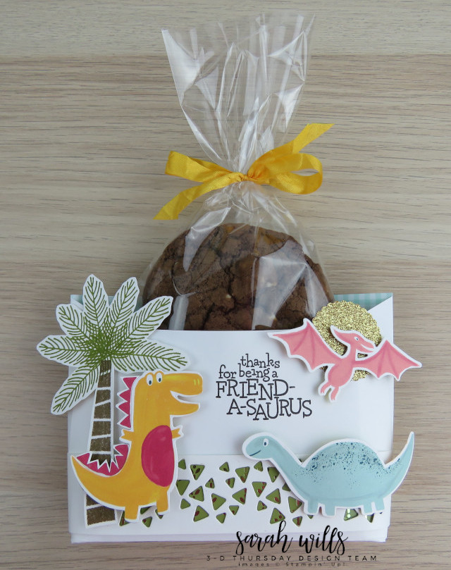 Stampin-Up-3D-Thursday-Envelope-Treat-Bag-Holder-Cookie-Dino-Days-DinoRoar-Kids-Favor-Idea-Sarah-Wills-Sarahsinkspot-Stampinup-Cookie4