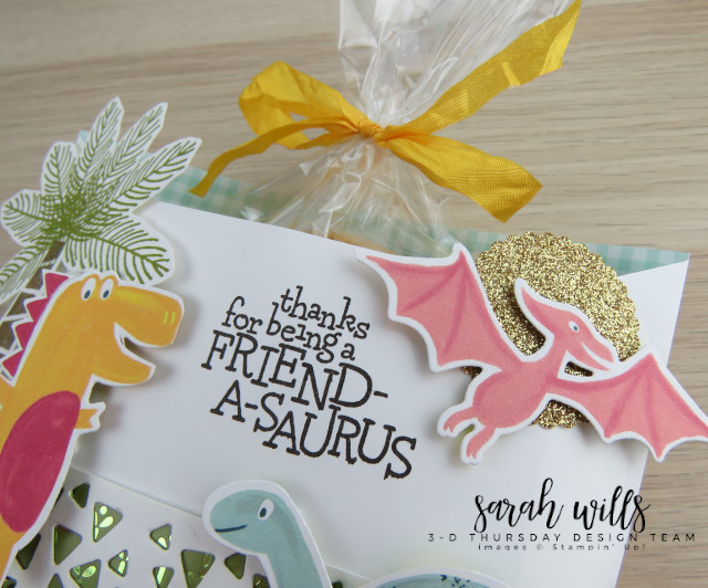 Stampin-Up-3D-Thursday-Envelope-Treat-Bag-Holder-Cookie-Dino-Days-DinoRoar-Kids-Favor-Idea-Sarah-Wills-Sarahsinkspot-Stampinup-Pteradactyl