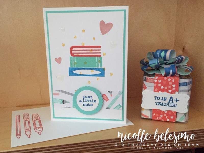 Stampin-Up-3D-Thursday-Teacher-Treat-Box-Back-To-School-It-Starts-With-Art-Follow-Idea-Sarah-Wills-Sarahsinkspot-Stampinup-Ensemble