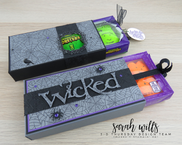 Stampin-Up-3D-Thursday-Halloween-Treat-Pull-Slide-Out-Box-Peeps-Spooktacular-Bash-Wicked-Ornate-Frames-Sarah-Wills-Stampinup-2