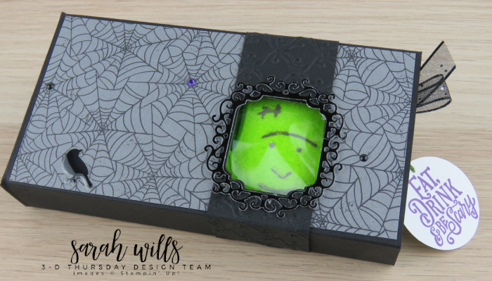 Stampin-Up-3D-Thursday-Halloween-Treat-Pull-Slide-Out-Box-Peeps-Spooktacular-Bash-Wicked-Ornate-Frames-Sarah-Wills-Stampinup-8
