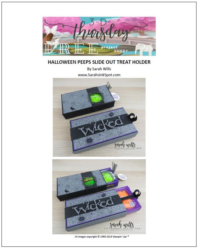 Stampin-Up-3D-Thursday-Halloween-Treat-Pull-Slide-Out-Box-Peeps-Spooktacular-Bash-Wicked-Ornate-Frames-Sarah-Wills-Stampinup-Cover